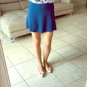 American Apparel Blue Skirt 🤩